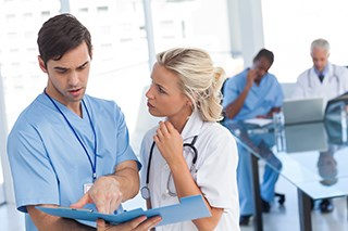 Primary care work environment affects NPs