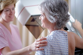 Mammography benefits women in their 40s