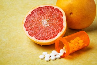 Not all grapefruits have the same effect on drug metabolism