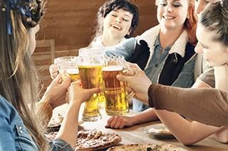 Large percentage of nursing students demonstrate hazardous drinking
