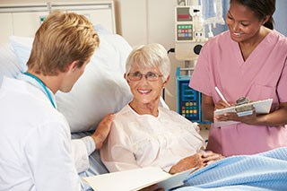 Patients often receive oncology care at multiple hospitals