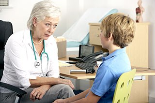 Providing psychosocial care when the patient is a child