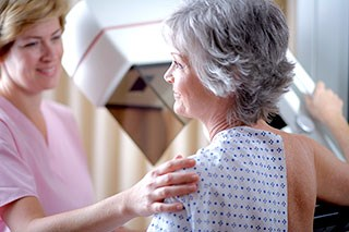 Attending breast cancer screening reduces risk of death from breast cancer by 40%