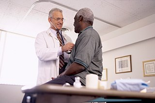 Survey responses revealed racial differences in HR-QoL, with lower scores reported by black and Hispanic patients.