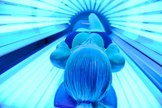 Younger people often use unsafe tanning methods, despite the skin cancer risk.