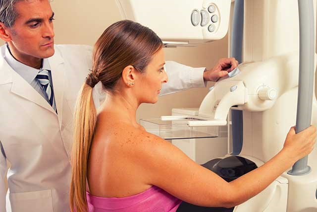 Routine screening mammography is an effective means of reducing cancer deaths.