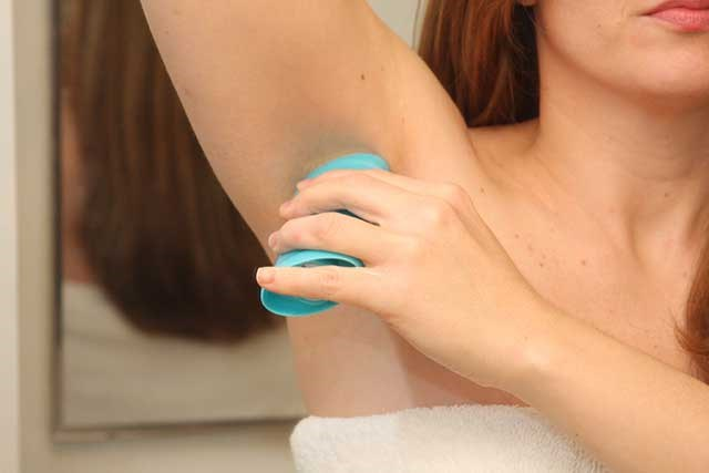 Is there any evidence linking use of underarm antiperspirants to increased breast cancer risk?