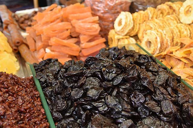 Researchers are exploring the tie between prunes and colon health.