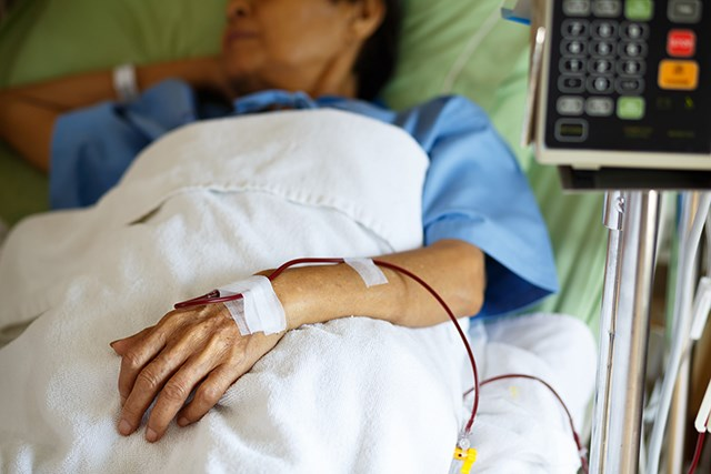A lack of transfusion services figures among reasons oncologist may not recommend hospice for some patients.