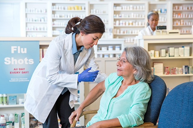 For patients receiving immunosuppressive chemotherapy, live vaccines should be avoided during treatment.