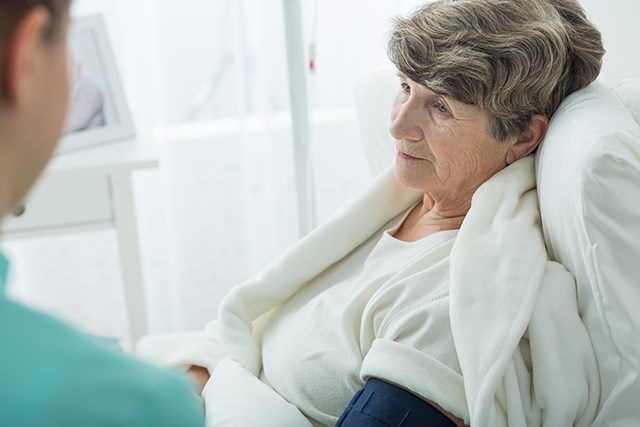 Caregivers for patients with cancer often report their own physical exhaustion and other symptoms.