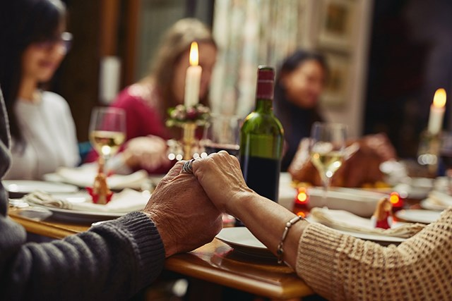 The holidays can be a challenging time for caregivers of patients with cancer.