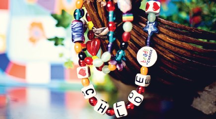 Beads of Courage: A linear story of a child's bravery on the journey to recovery