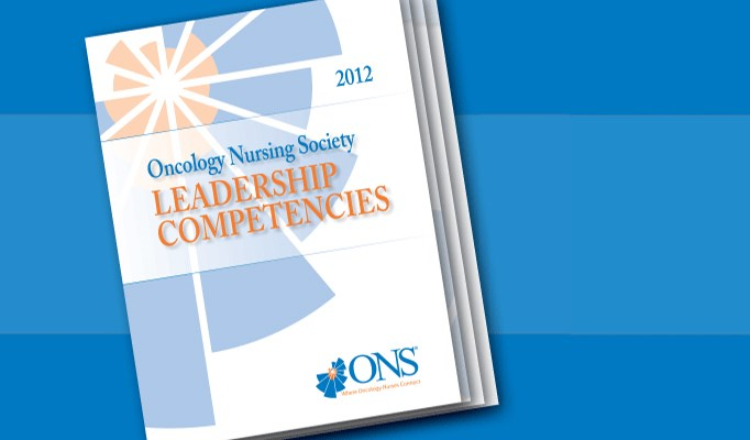 ONS defines nurse leadership skills