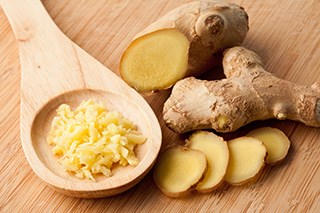 Ginger extract improves chemotherapy-induced nausea, vomiting