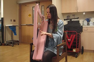 The Healing Arts Program at Montefiore employs music therapy for cancer patients.