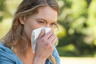 Patients with allergic rhinitis may have an increased risk of developing nasopharyngeal carcinoma.