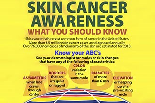Skin cancer awareness: What you should know (Infographic)