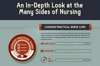 An In-depth Look at the Many Sides of Nursing (Infographic)