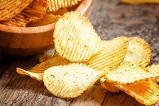 Fried foods, such as French fries and potato chips, have the highest levels of acrylamide, but it may also be found in grain products and in non-food consumer items.