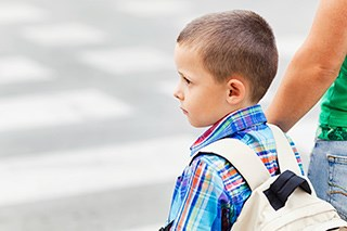 Children living near busy roads demonstrated a much higher incidence of myeloblastic leukemia.