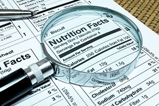 Nutrition Facts Label Redesigned by FDA