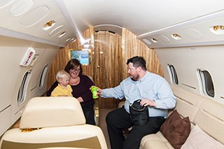 50,000th Flight: Corporate Angel Network Marks a Milestone in Service for Patients With Cancer