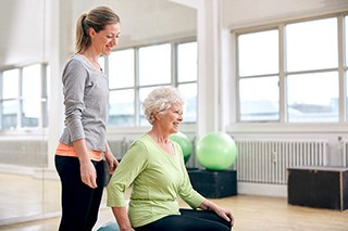 Exercise may have positive benefits for patients receiving chemotherapy.