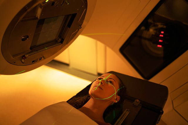 "Positions adopted during radiation therapy may trigger a body's ""fight or flight"" response."