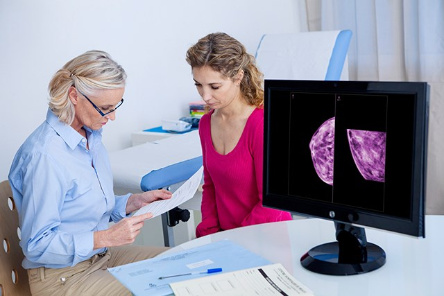 Deep Learning Algorithm Can Identify Mammographic Breast Density
