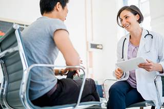 Patients and physicians independently completed a questionnaire including seven items assessing communication quality immediately post-appointment.