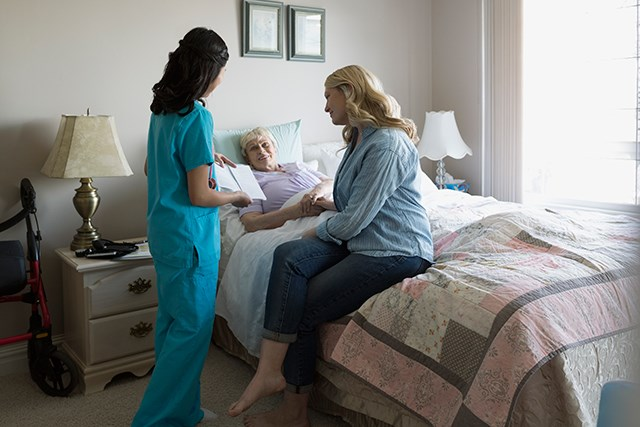 Nurses Must Be Experienced, Feel Competent When Providing End-of-Life Care
