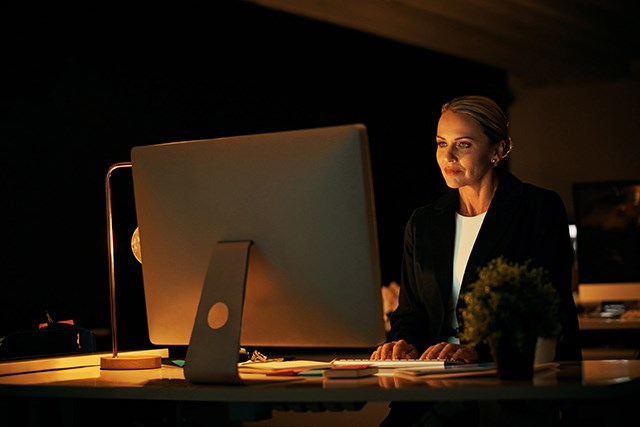 Long-term night shift work may affect cancer risk.