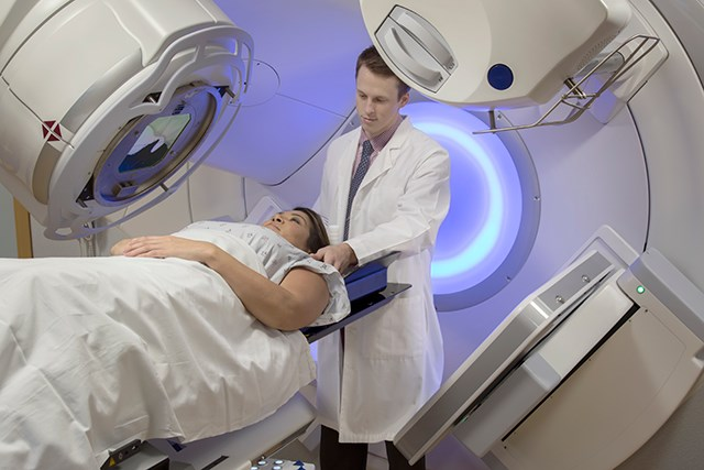 In this study, researchers evaluated radiation exposure of IMRT and PSPT treatments.