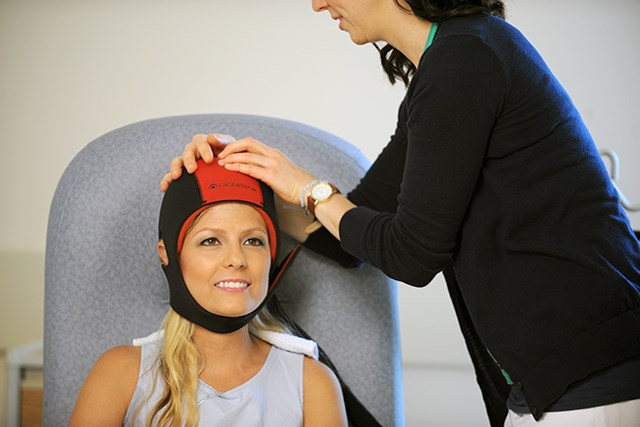 For some patients, scalp cooling with the Dignicap proved an effective means of preventing chemotherapy-induced alopecia.