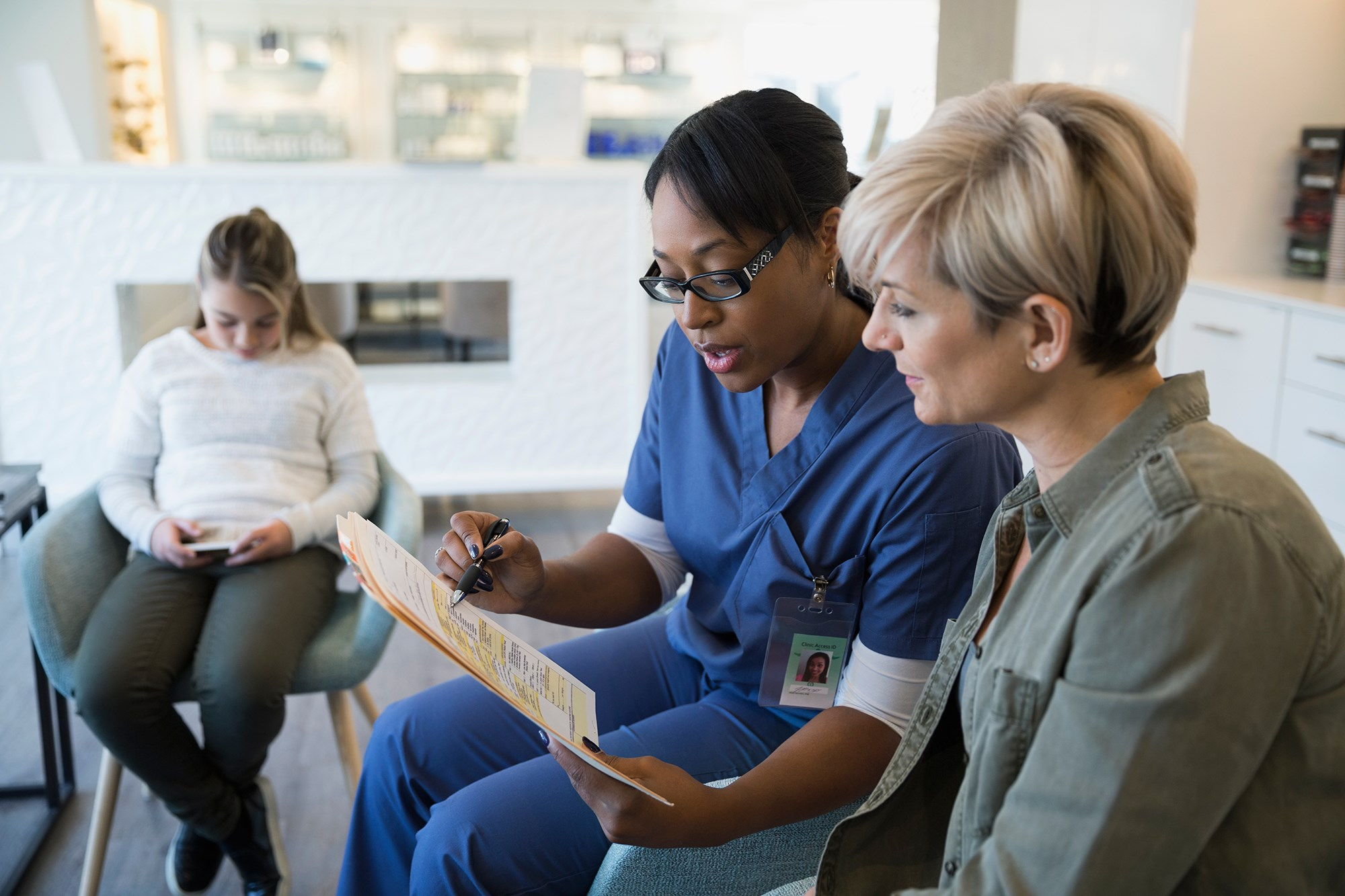 Patients assigned to nurse-led care received a consultation prior to chemotherapy and follow-ups during chemotherapy.