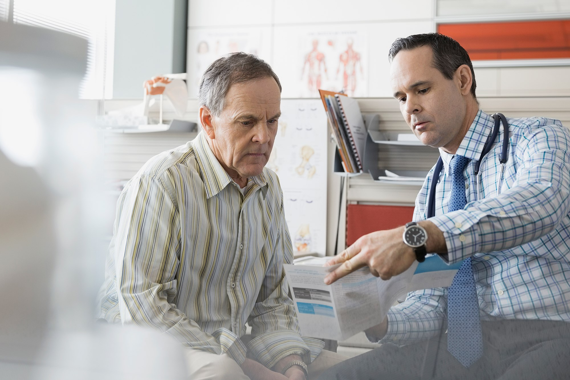 Patients scored clinician interactions high, but smoking and dietitian information scored lower.