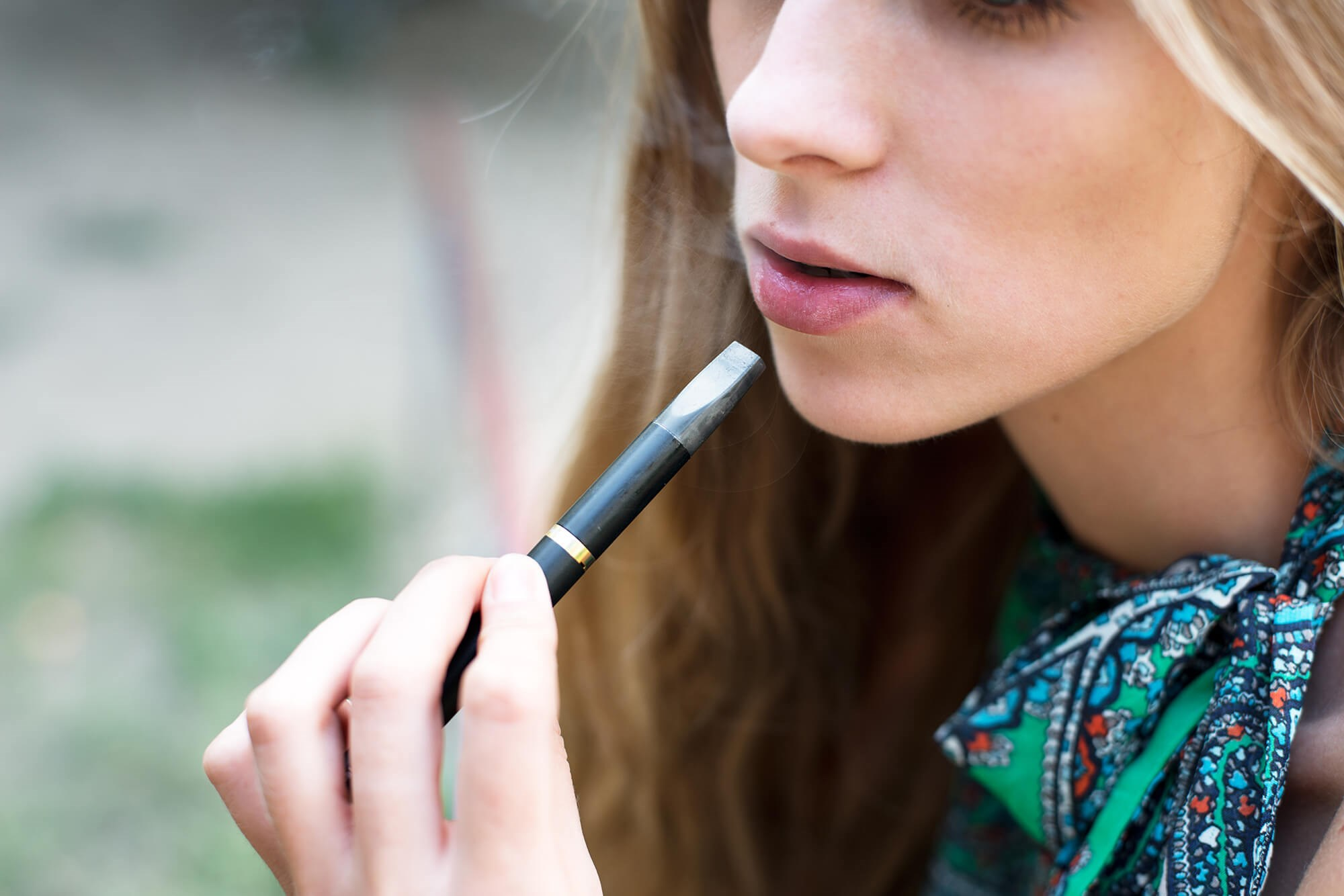 Although overall e-cigarette use is becoming less common among US adults, use increased among never-smokers during the same period.